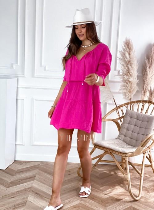 Sukienka Luci fuksja 5