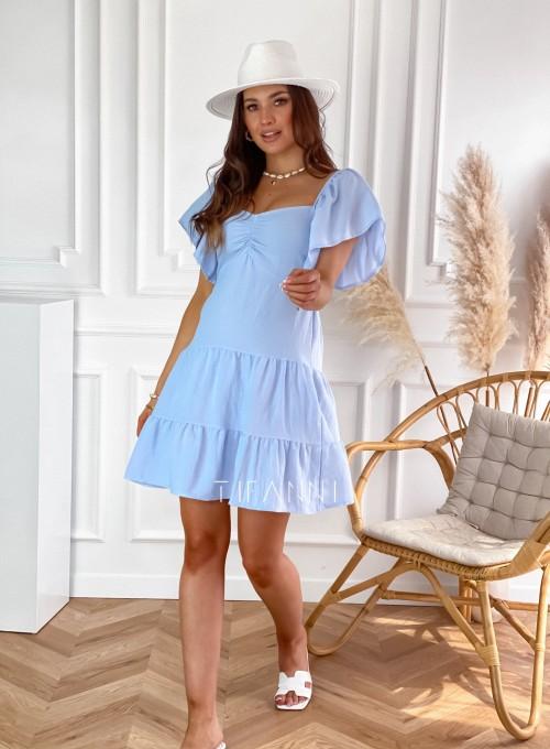 Sukienka Sofia blue jeans 2