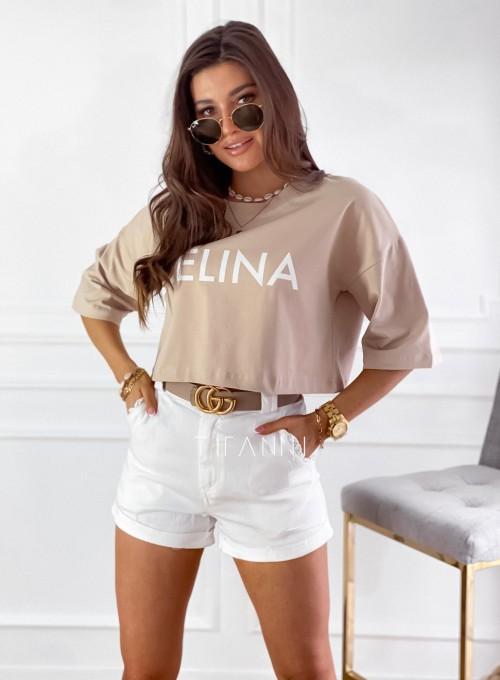 T-shirt Celina baige 1