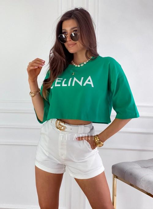 T-shirt Celina green 2