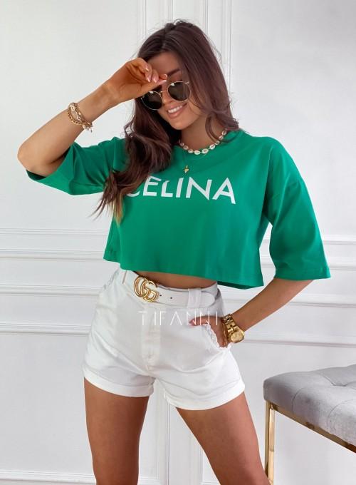 T-shirt Celina green 3