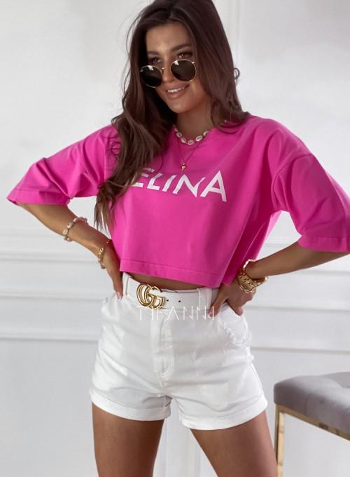 T-shirt Celina pink 1