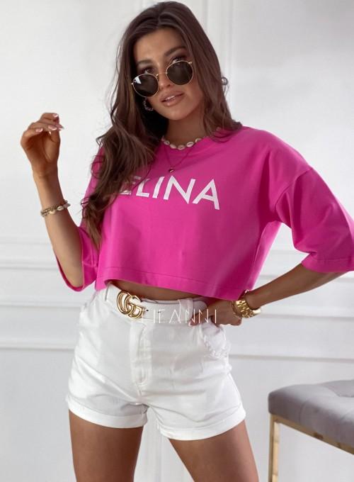 T-shirt Celina pink 2