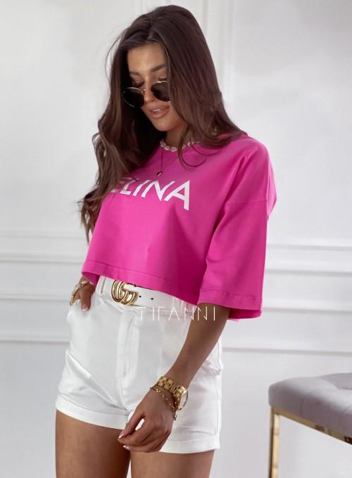 T-shirt Celina pink 3