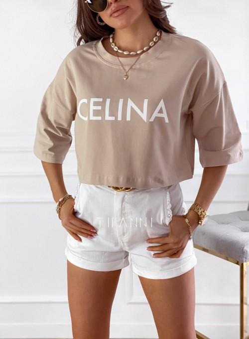 T-shirt Celina baige