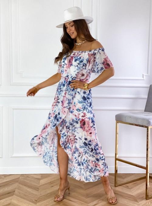 Sukienka hiszpanka maxi Luma III