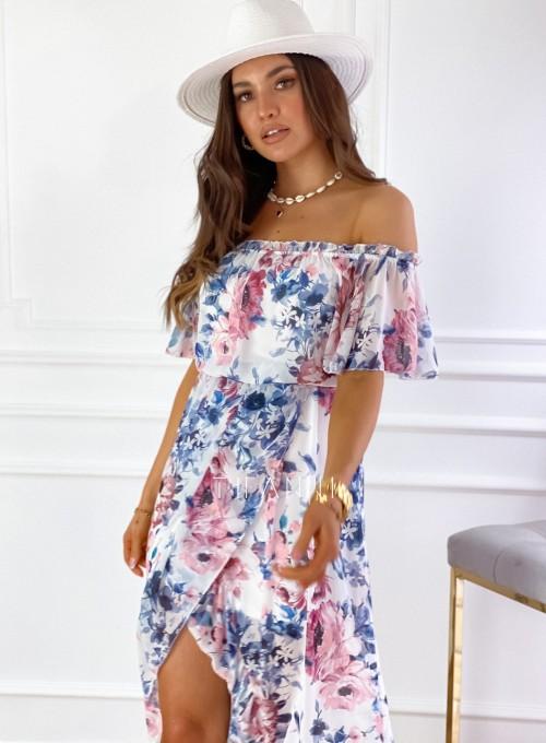 Sukienka hiszpanka maxi Luma III 3