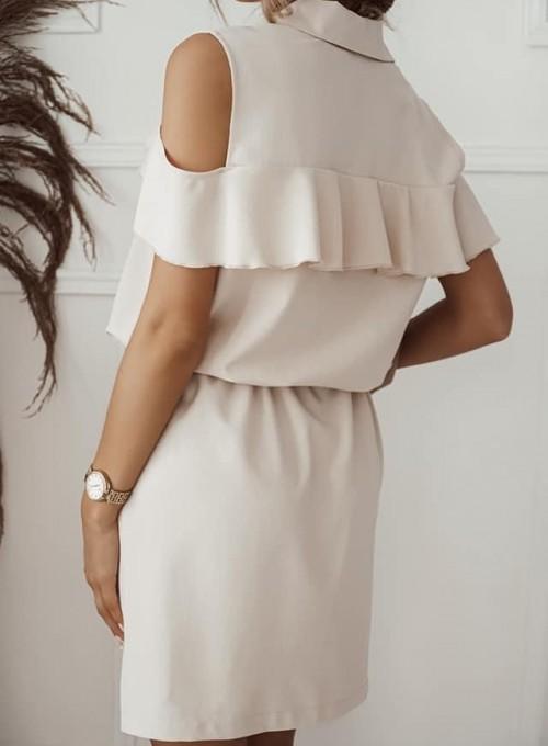 Sukienka Lika beżowa 1