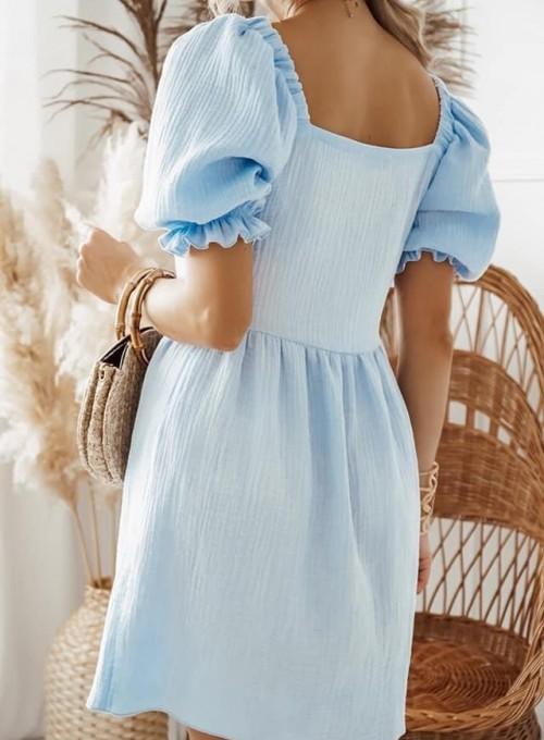 Sukienka Fame bawełniana 2
