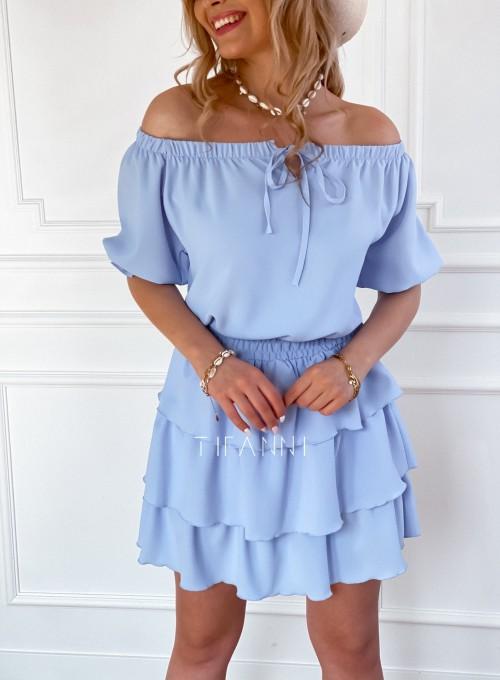 Sukienka Milo blue 1