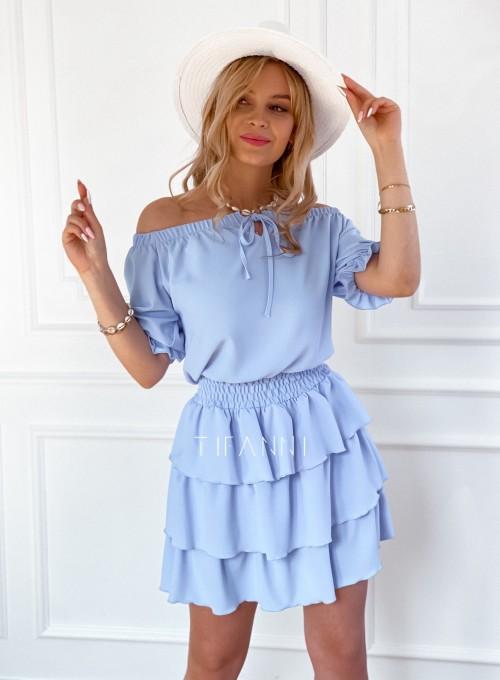 Sukienka Milo blue 3