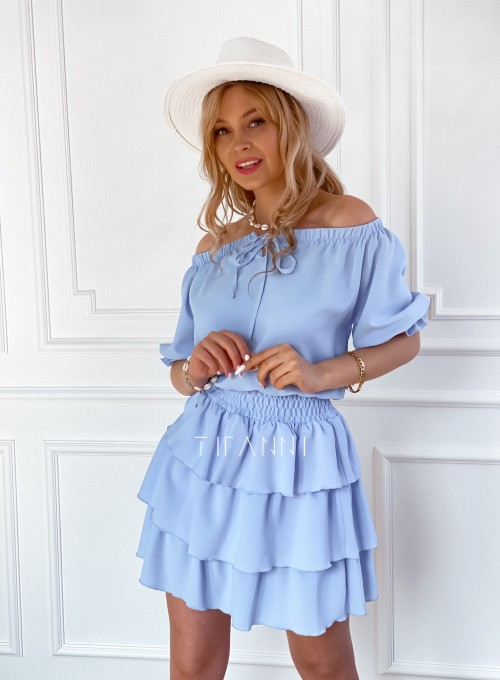 Sukienka Milo blue 4