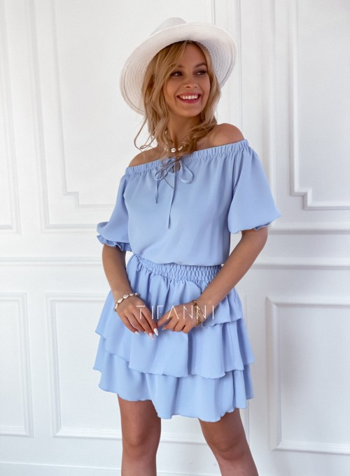 Sukienka Milo blue 5