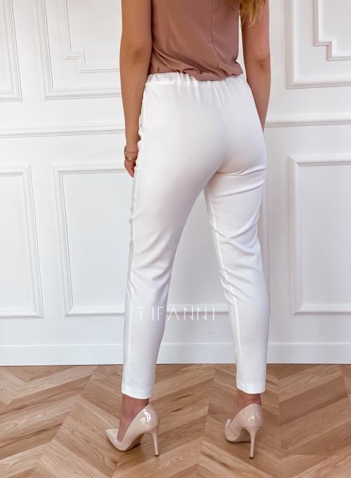 Spodnie Lavia śmietankowe 6