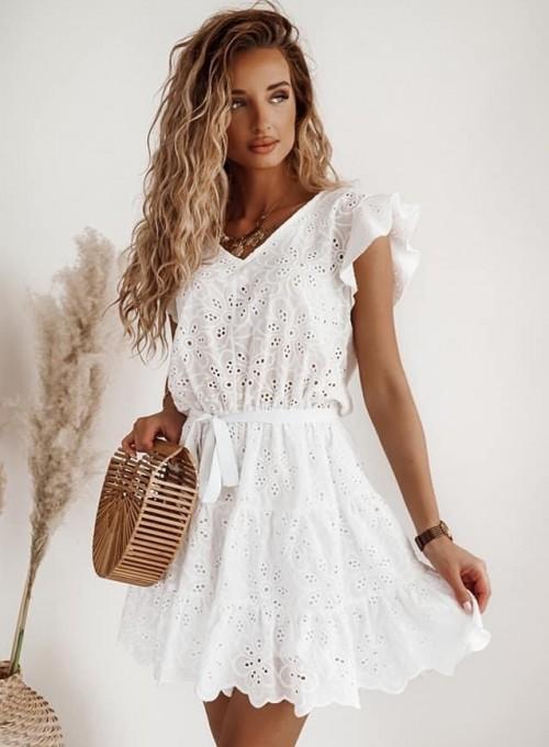 Bawełniana sukienka Lanco