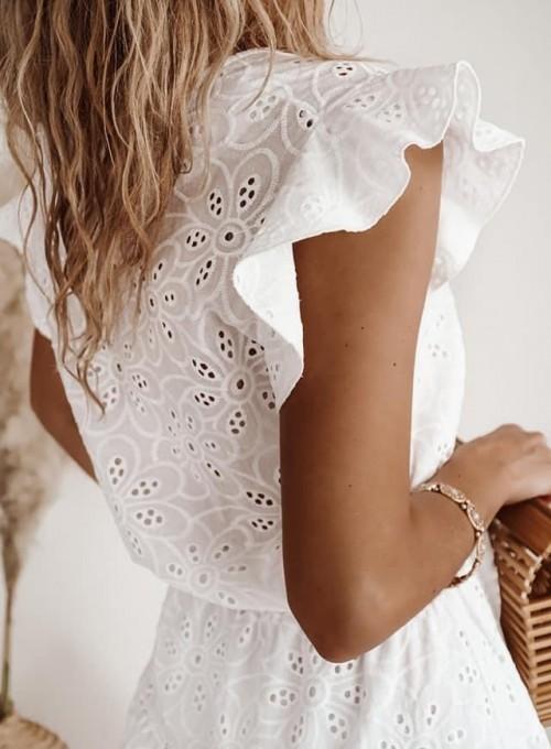 Bawełniana sukienka Lanco 1
