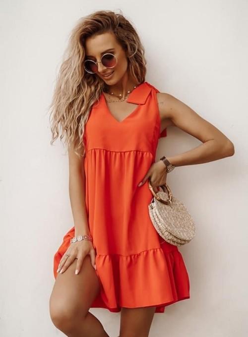 Sukienka Aurora orange
