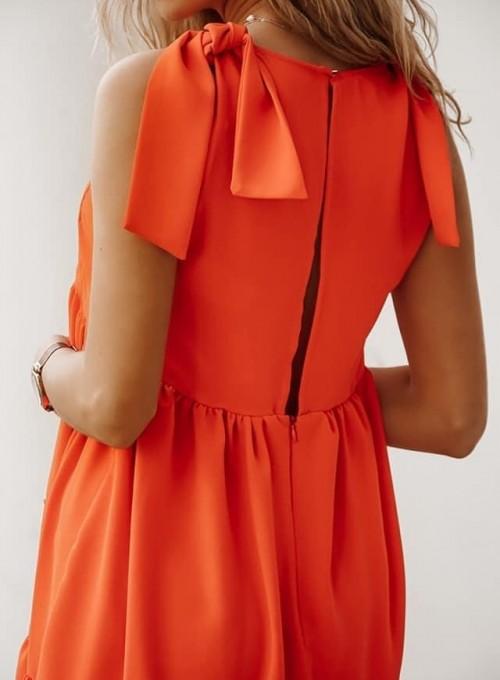 Sukienka Aurora orange 1