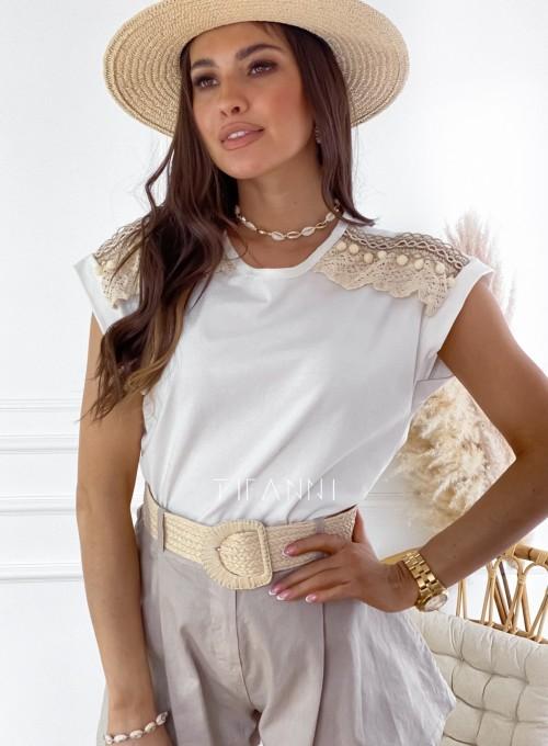 Bluzka Marise biała
