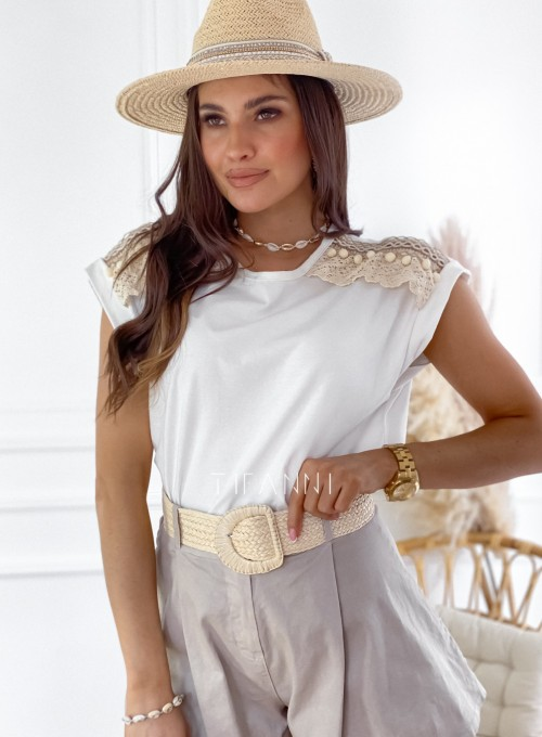 Bluzka Marise biała 2