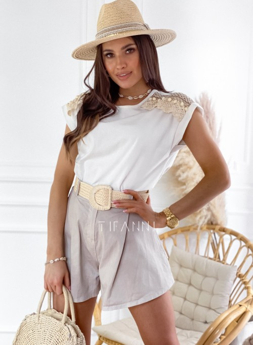 Bluzka Marise biała 4