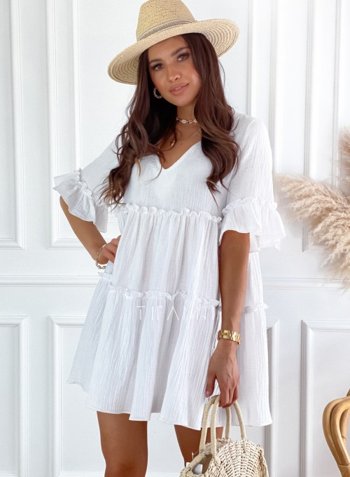 Sukienka Piani biała