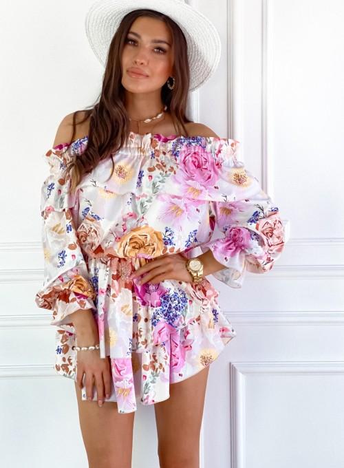 Komplet bluzka spódnica Miami 7