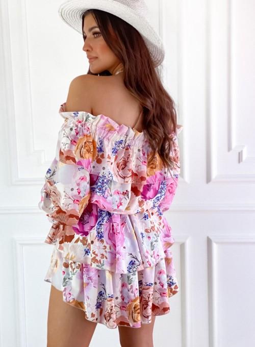 Komplet bluzka spódnica Miami 2