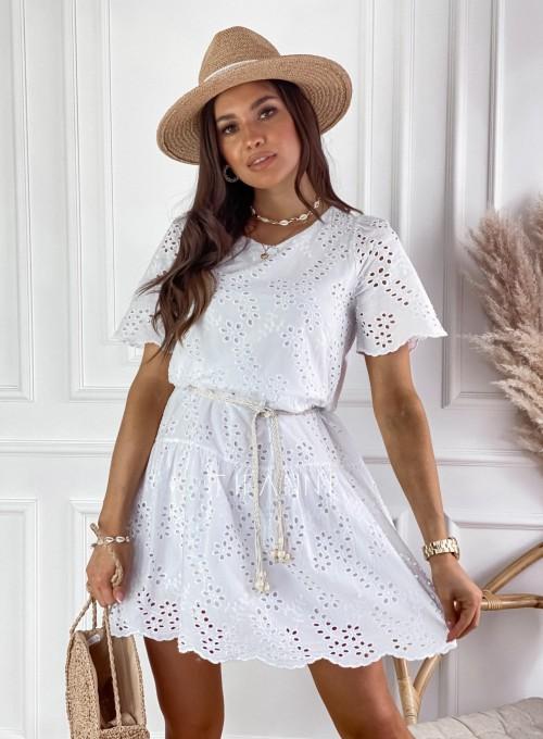 Sukienka Tina biała