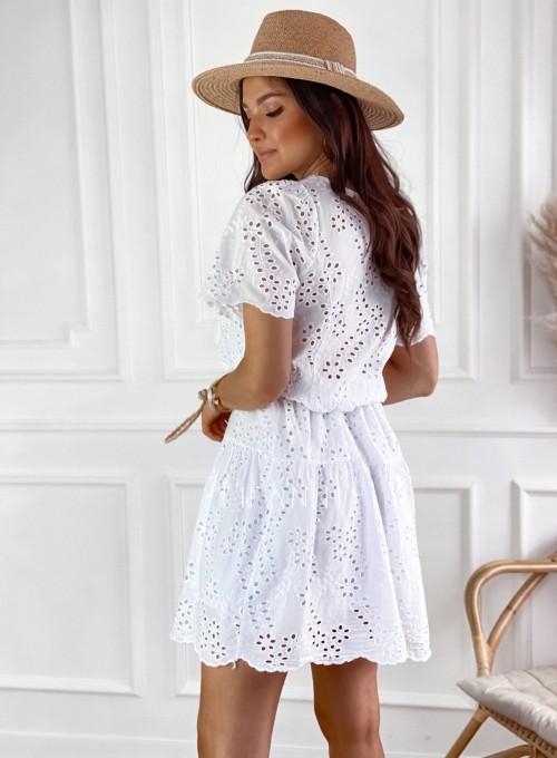 Sukienka Tina biała 3
