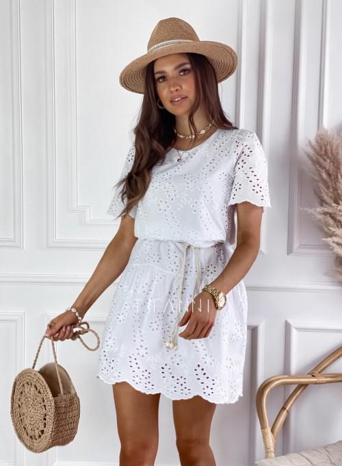 Sukienka Tina biała 4