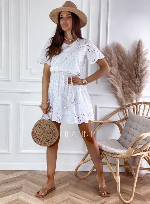 Sukienka Tina biała 2