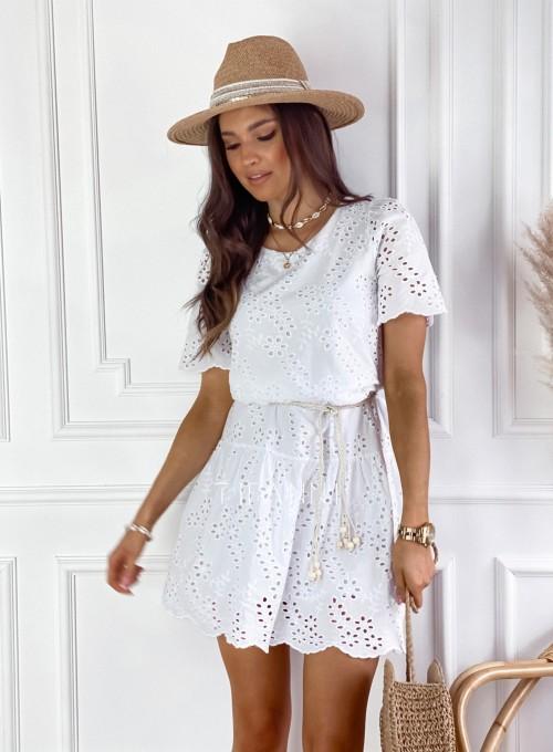 Sukienka Tina biała 5