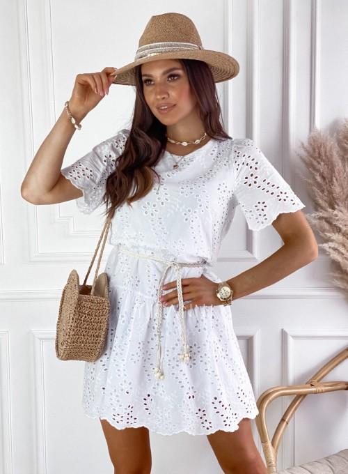 Sukienka Tina biała 6