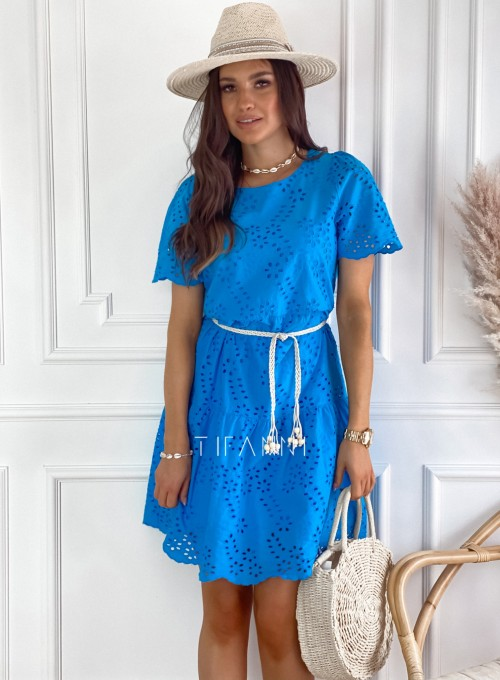 Sukienka Tina kobaltowa 5