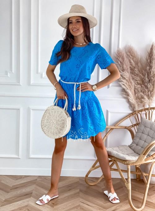 Sukienka Tina kobaltowa 6