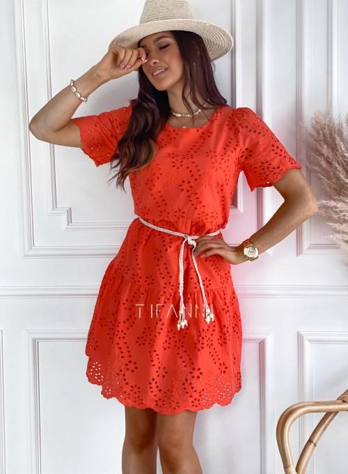 Sukienka Tina orange