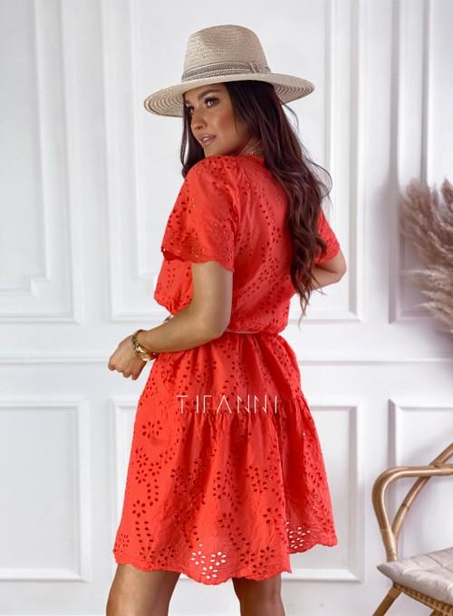 Sukienka Tina orange 3