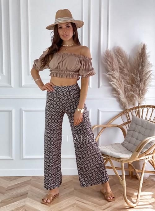 Spodnie zwiewne Browni 1