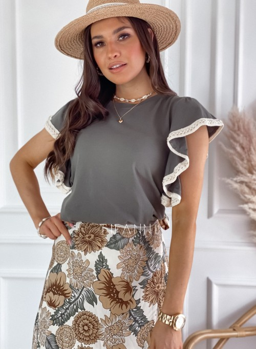 Bluzka Olina khaki