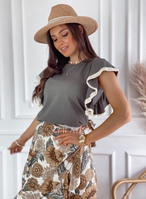 Bluzka Olina khaki 4