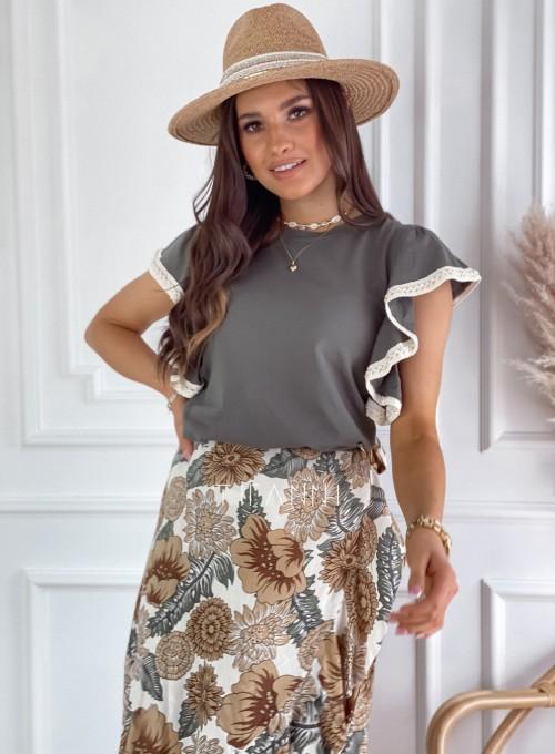 Bluzka Olina khaki 5