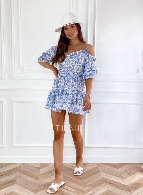 Komplet bluzka spódnica Xari 4