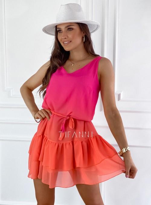 Sukienka Finestra color