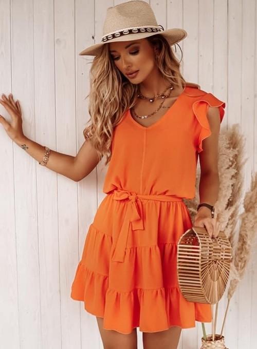 Sukienka Bibi orange