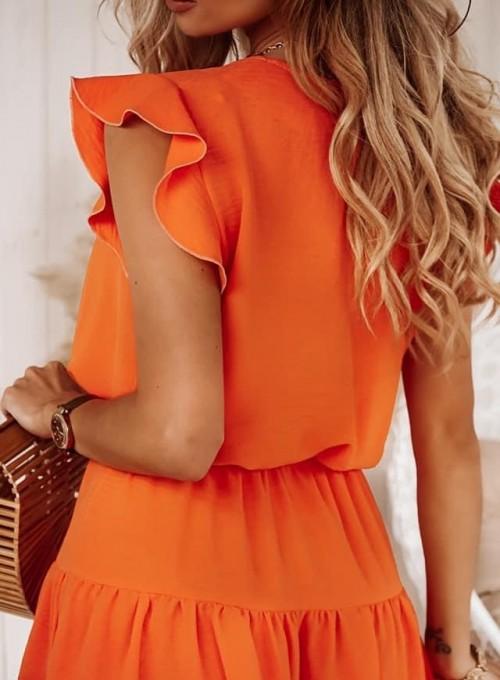 Sukienka Bibi orange 1