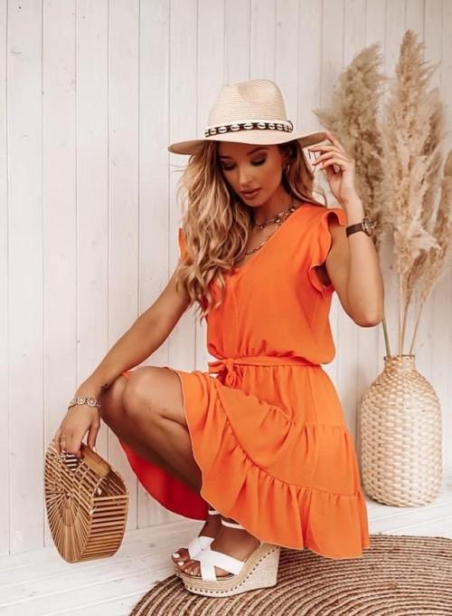 Sukienka Bibi orange 2