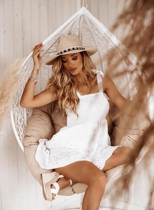 Sukienka Felipa biała 1