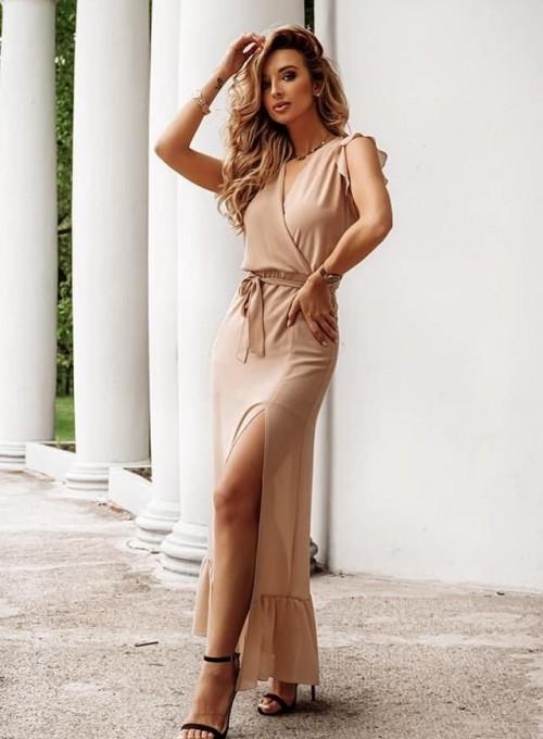 Sukienka Glise beige