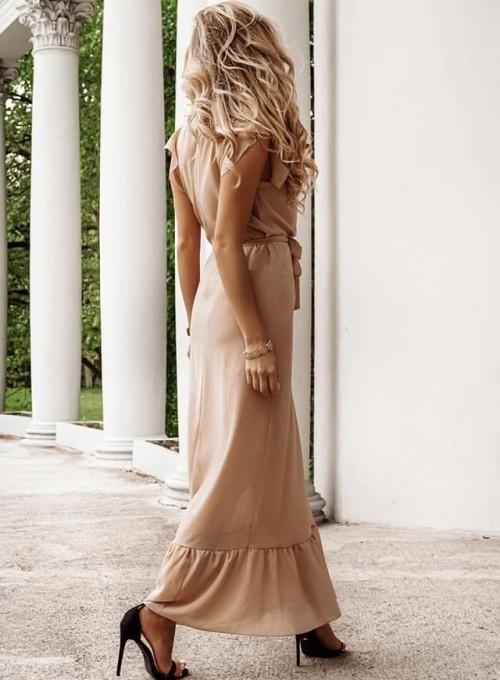 Sukienka Glise beige 2